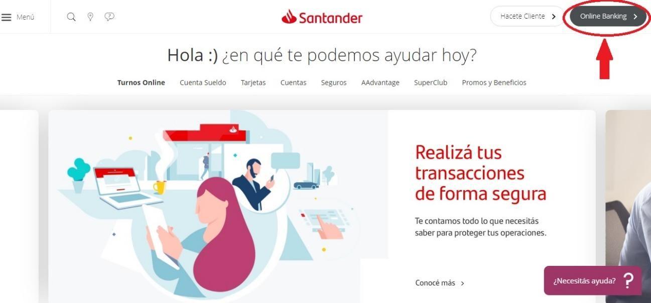 Todo Sobre Santander Online Banking: Ingresar