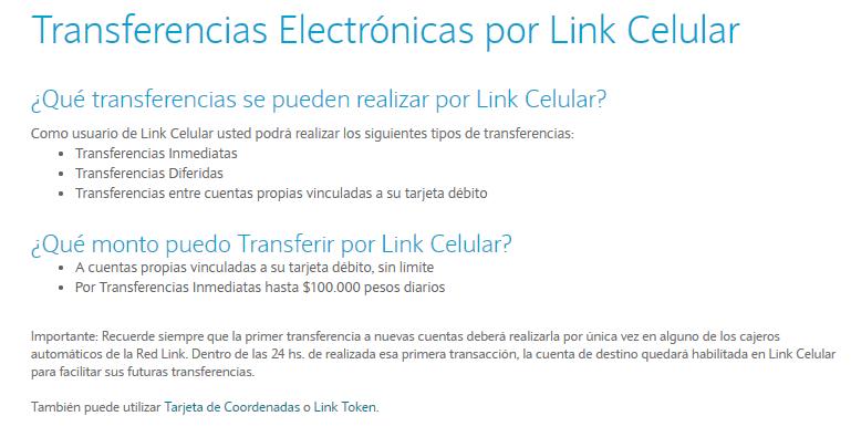 ¿Cómo Hacer Una Transferencia Por Link En Mi Celular?