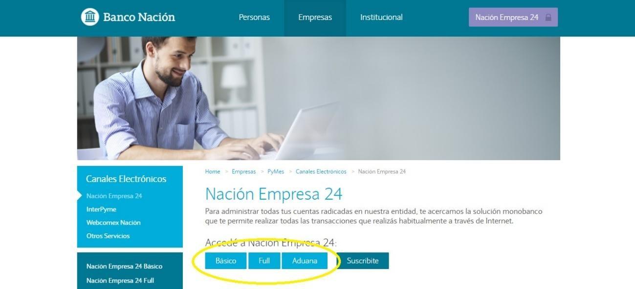¿Cómo Ingresar A Home Banking Nación Para Empresas?