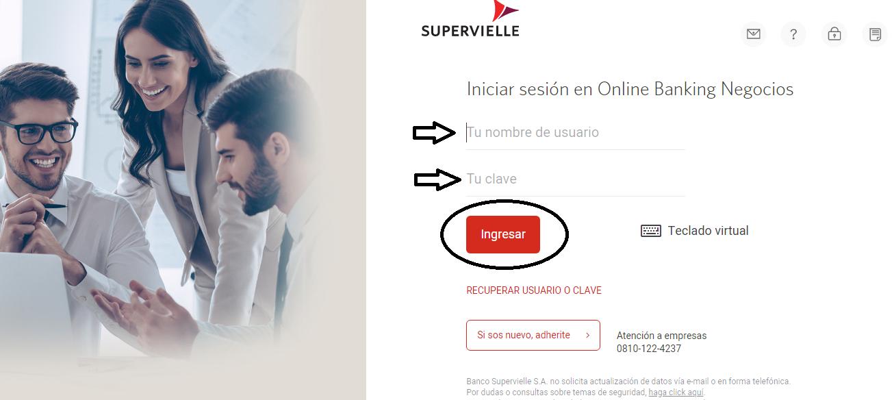 Todo sobre Banco Supervielle Home Banking: Ingresar