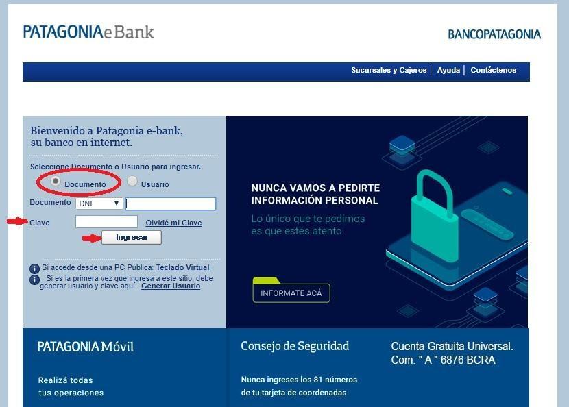 Descubre Todos Los Recursos Del Home Banking Banco Patagonia