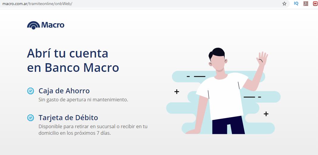 Cómo Abrir Caja De Ahorro Por Internet En Banco Macro