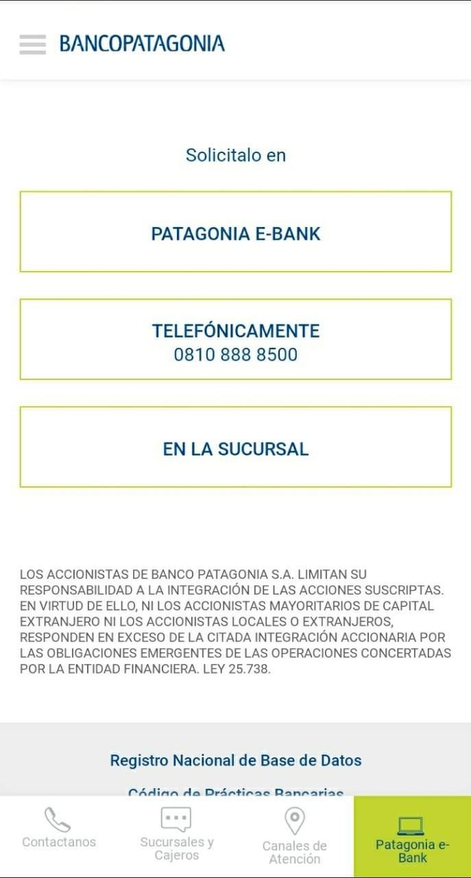 Cómo Abrir Caja De Ahorro Online En Banco Patagonia